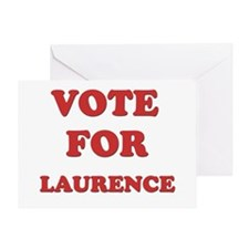 Vote for LAURENCE Greeting Card