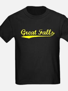 Vintage Great Falls (Gold) T