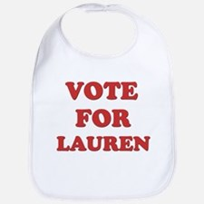 Vote for LAUREN Bib