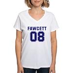Fawcett 08 Women's V-Neck T-Shirt