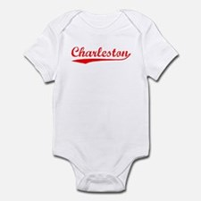 Vintage Charleston (Red) Infant Bodysuit