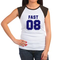 Fast 08 Women's Cap Sleeve T-Shirt