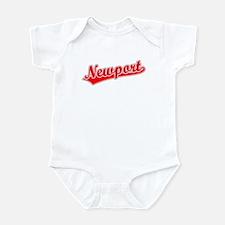 Retro Newport (Red) Infant Bodysuit