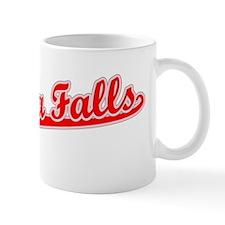 Retro Niagara Falls (Red) Mug