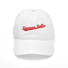 Retro Niagara Falls (Red) Baseball Cap