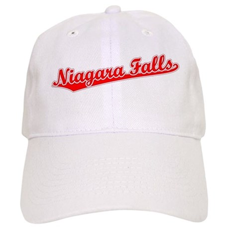 Retro Niagara Falls (Red) Cap