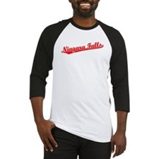 Retro Niagara Falls (Red) Baseball Jersey