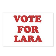 Vote for LARA Postcards (Package of 8)