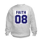Faith 08 Kids Sweatshirt