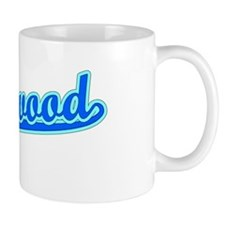 Retro Hollywood (Blue) Mug