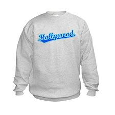 Retro Hollywood (Blue) Sweatshirt
