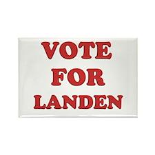 Vote for LANDEN Rectangle Magnet
