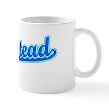 Retro Homestead (Blue) Mug