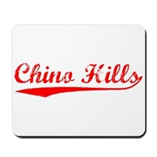 Vintage Chino Hills (Red) Mousepad