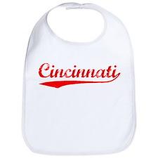 Vintage Cincinnati (Red) Bib