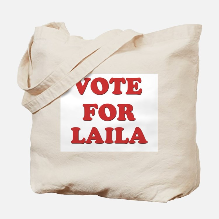 Vote for LAILA Tote Bag