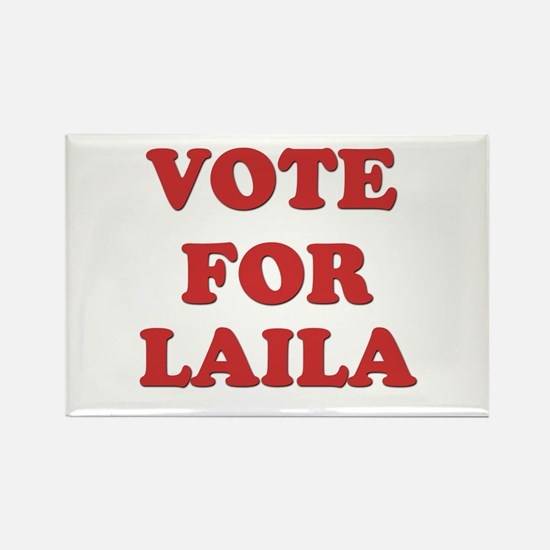 Vote for LAILA Rectangle Magnet