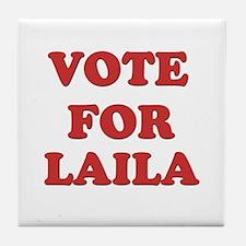 Vote for LAILA Tile Coaster