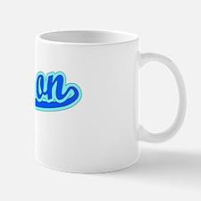 Retro Hudson (Blue) Mug