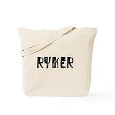 Ryker Faded (Black) Tote Bag