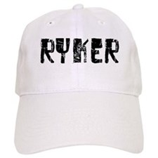 Ryker Faded (Black) Baseball Cap