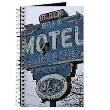Block Motel Sign Journal