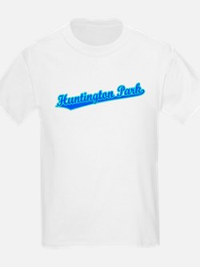 Retro Huntington P.. (Blue) T-Shirt