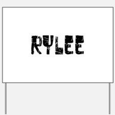 Rylee Faded (Black) Yard Sign