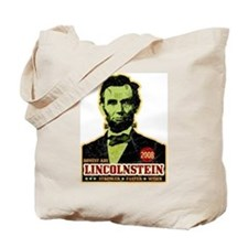 Abe Lincoln Stein Election Tote Bag