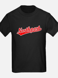 Retro Northport (Red) T