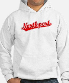 Retro Northport (Red) Hoodie