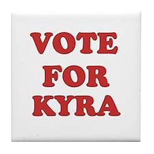 Vote for KYRA Tile Coaster