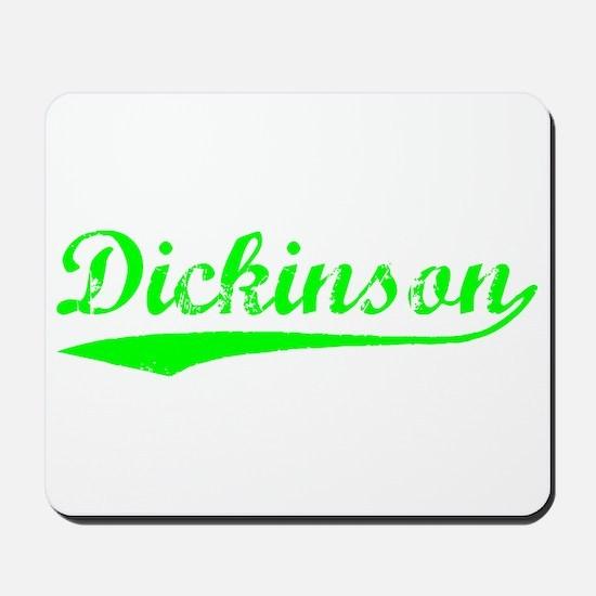 Vintage Dickinson (Green) Mousepad