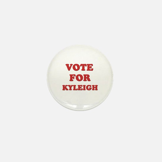Vote for KYLEIGH Mini Button
