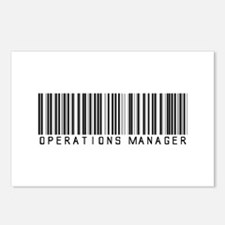 Operations Manager Barcode Postcards (Package of 8