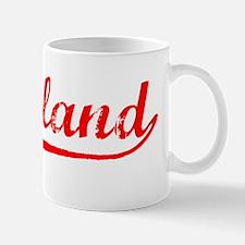Vintage Cleveland (Red) Mug