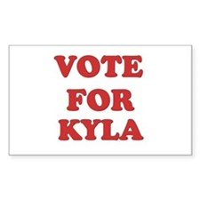 Vote for KYLA Rectangle Decal