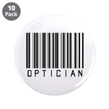 "Optician Bar Code 3.5"" Button (10 pack)"
