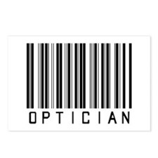 Optician Bar Code Postcards (Package of 8)
