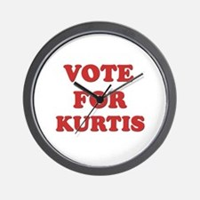 Vote for KURTIS Wall Clock
