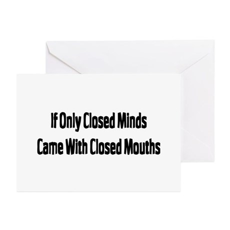 Closed Greeting Cards (Pk of 10)