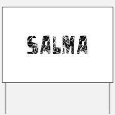 Salma Faded (Black) Yard Sign