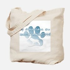 Neapolitan Mastiff Grandchildren Tote Bag