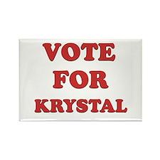 Vote for KRYSTAL Rectangle Magnet