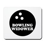 Bowling Widower Mousepad