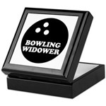 Bowling Widower Keepsake Box
