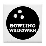 Bowling Widower Tile Coaster