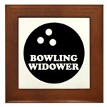 Bowling Widower Framed Tile