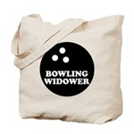 Bowling Widower Tote Bag