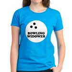 Bowling Widower Women's Dark T-Shirt